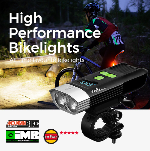 Fenix bikelight, bikelamps BC05, BC21R, BC25R, BC30, BC30R, BC35R, Natural White LED