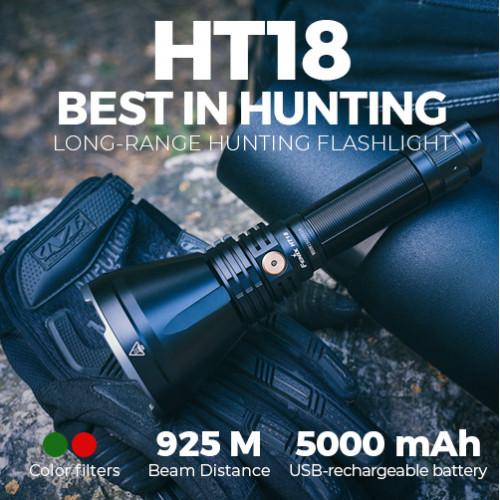 Fenix HT18 long-range hunting flashlight
