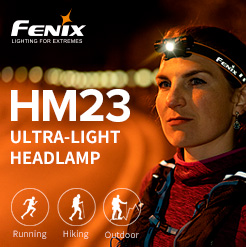 Fenix HM23 ultra-compact headlamp