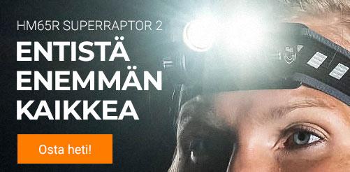 Otsalamppu HM65R Superraptor 2 Fenix, otsavalo