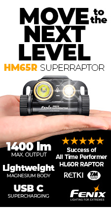 HM65R SUPERRAPTOR headlamp