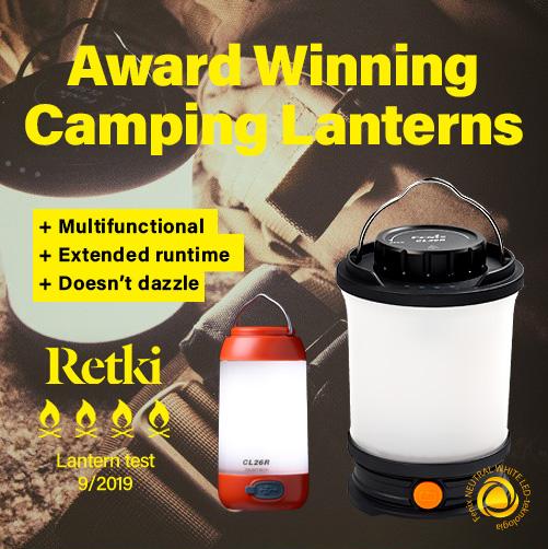 Fenix Award Winning Camping Lantern CL30R, CL26R, CL09