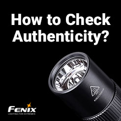 Fenix E30R favourite EDC flashlight