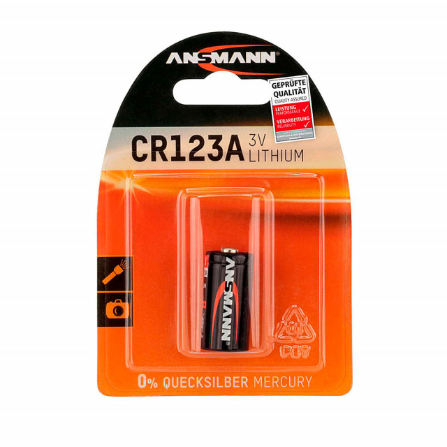 Battery CR123A Lithium