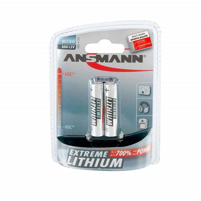Battery Ansmann AAA Lithium Extreme