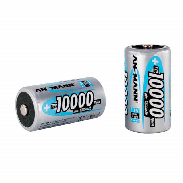 Battery Ansmann D-rechargeable Battery  10000 mAh