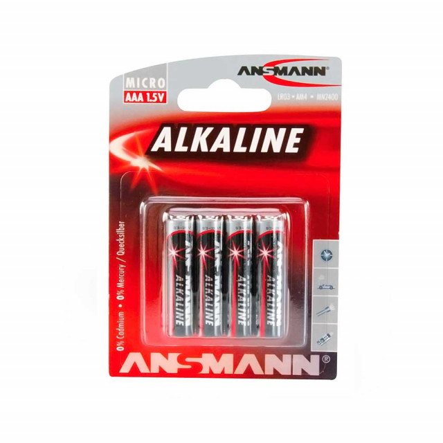 Battery Ansmann Red Alkaline AAA