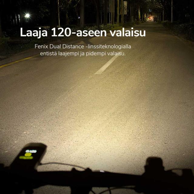 Fenix BC30R V2.0 Rechargeable Bike light
