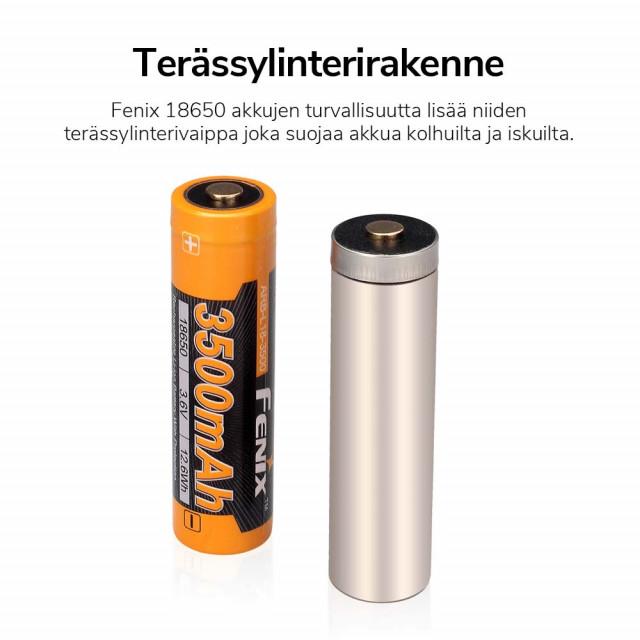 Akkuparisto Fenix ARB-L18-3500 18650