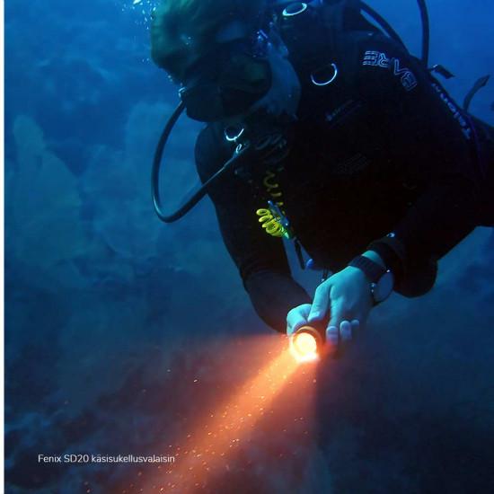 Fenix SD20 Diving Light