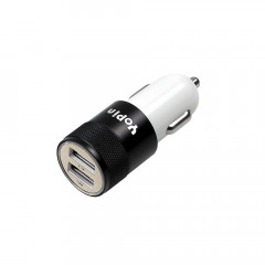 Dual 2.1A USB car charger 12-24V