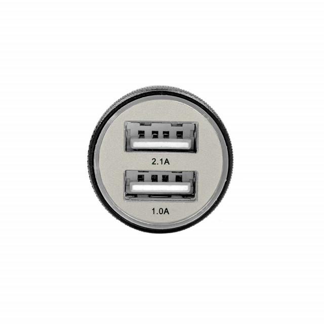 Dual 2.1A USB-laturi 12-24V