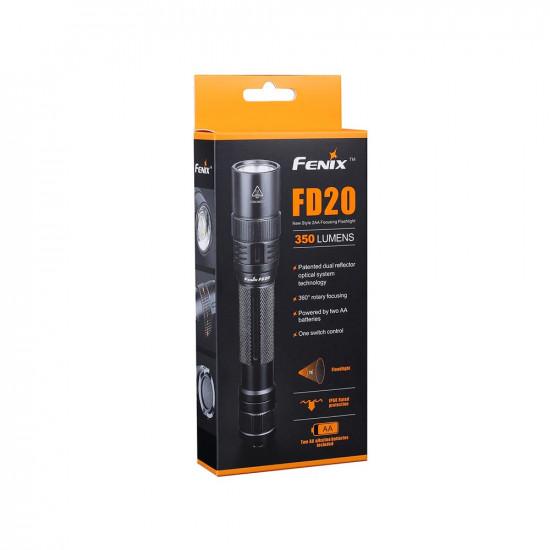 Fenix FD20 Rotary Focusing Flashlight