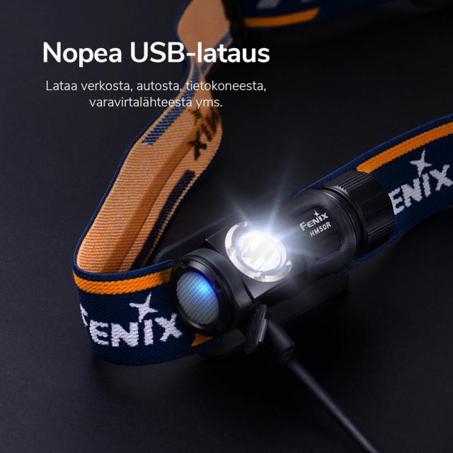 Fenix HM50R Rechargeable Headlamp