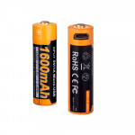 USB-rechargeable 16340 Li-ion battery
