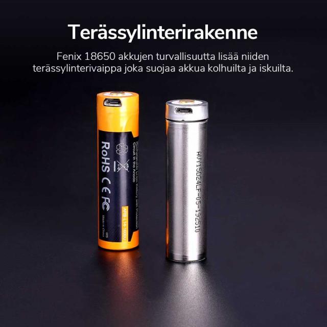 Akkuparisto Fenix ARB-L14-1600U 14500 USB
