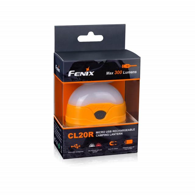 Fenix CL20R ladattava retkilyhty