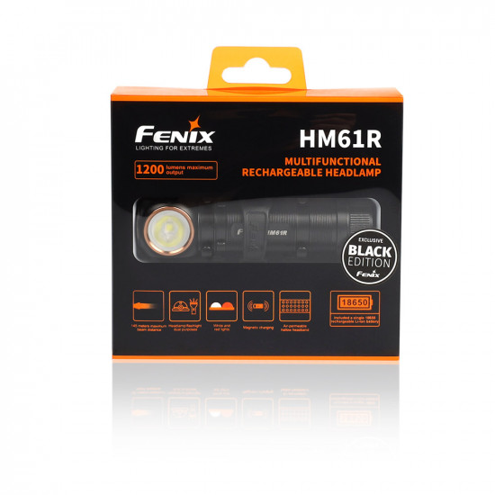 Fenix HM61R BLACK Multi-use Headlamp