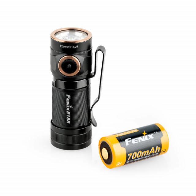 Fenix E18R ladattava superlamppu