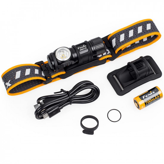 Fenix HM51R RUBY rechargeable headlamp