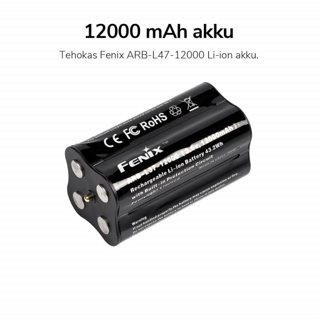 Fenix LR40R Rechargeable Search Light