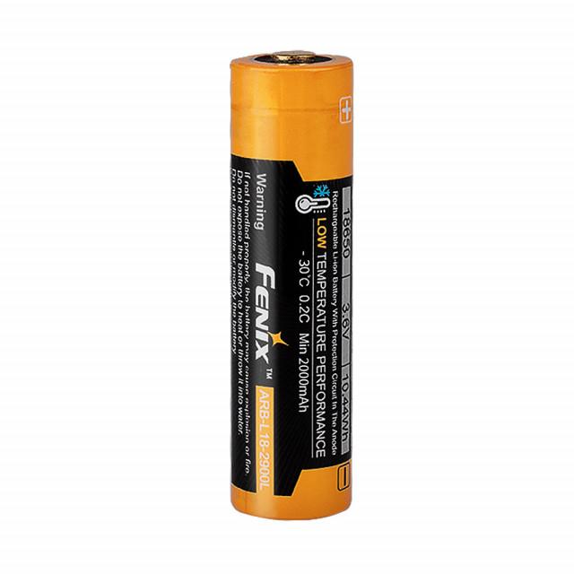 Akkuparisto Fenix ARB-L18-2900L 18650 kylmän kestävä