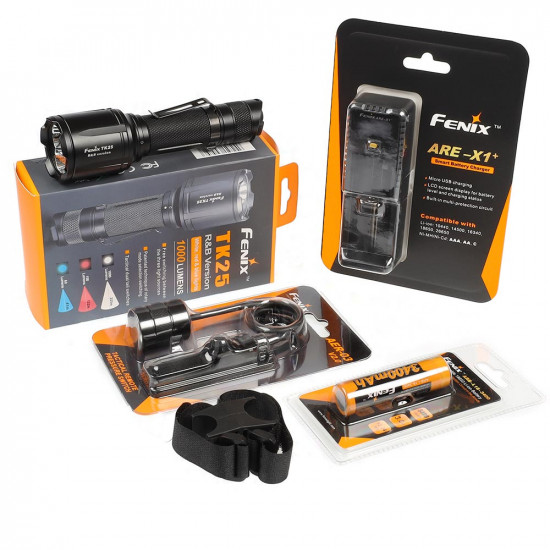 Fenix TK25RED Hunting Bundle