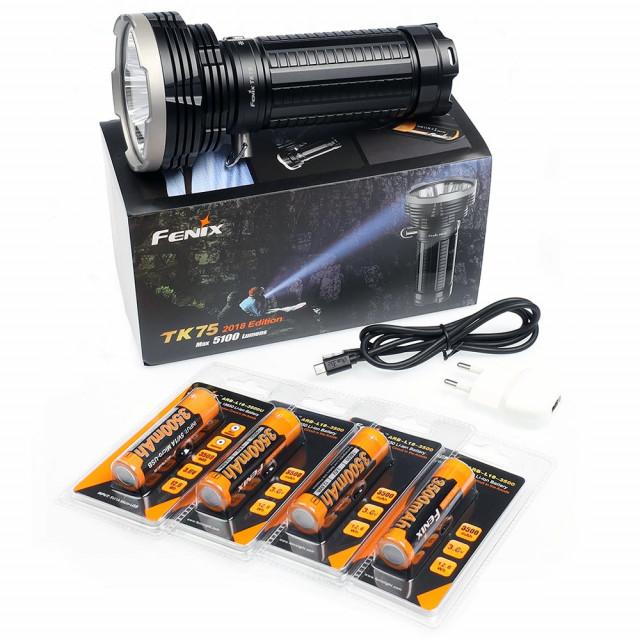 Fenix TK75 etsijän paketti