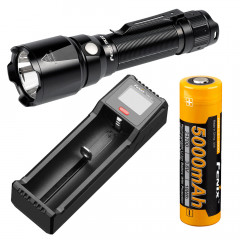 Fenix TK22 V2.0 Tactical Flashlight Bundle, 1600 lumens