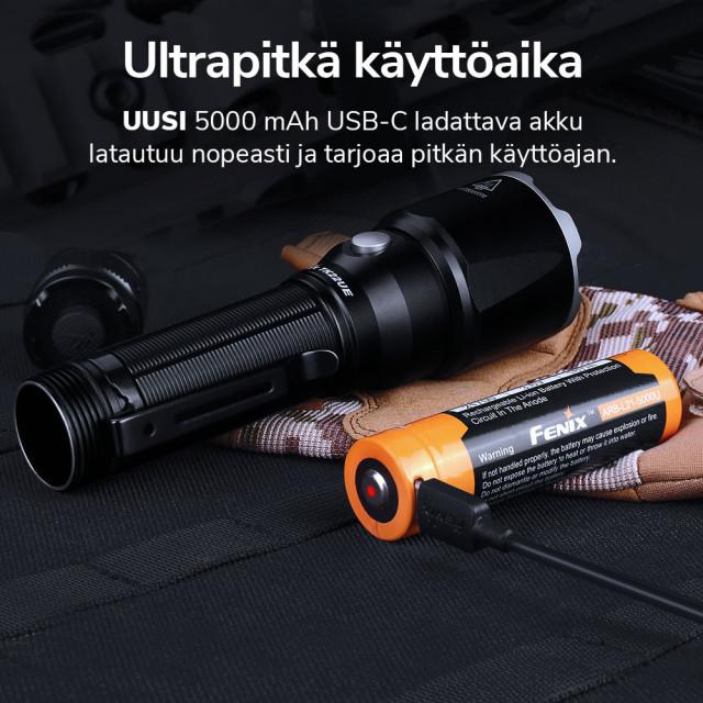 Fenix TK22UE STRIKER taskulamppu