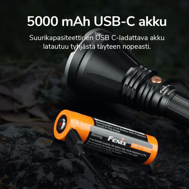 Hakuvalo Fenix HT18, 1500 lm