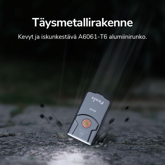 Fenix E03R Rechargeable Key-chain Flashlight