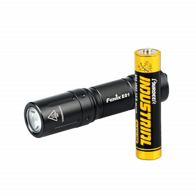 Fenix E01 V2.0 minilamppu AAA-paristolla