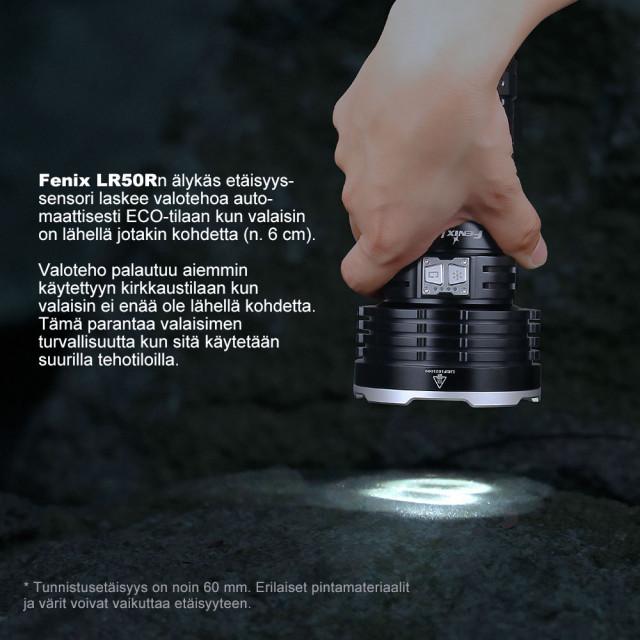 Fenix LR50R käsivalaisin
