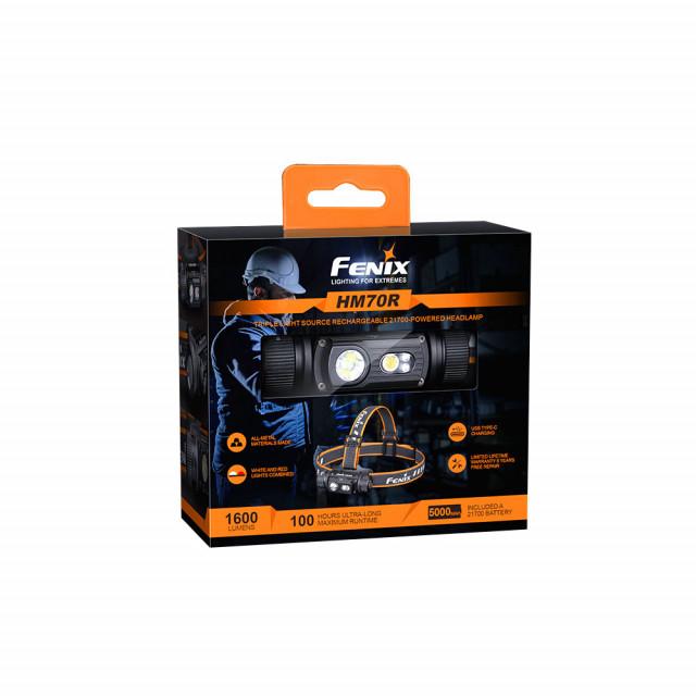 Otsalamppu Fenix HM70R, 1600 lm