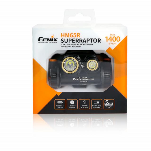 Fenix HM65R SUPERRAPTOR 2020