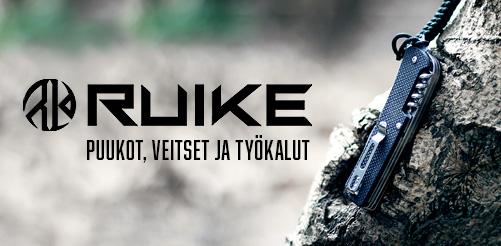 ruike.fi is now open - best trekking knives