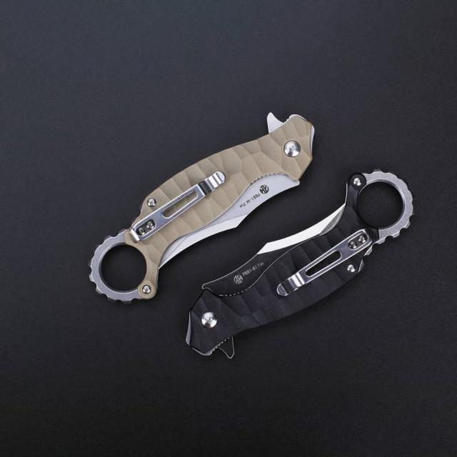 RUIKE P881-B1 Black pocket knife
