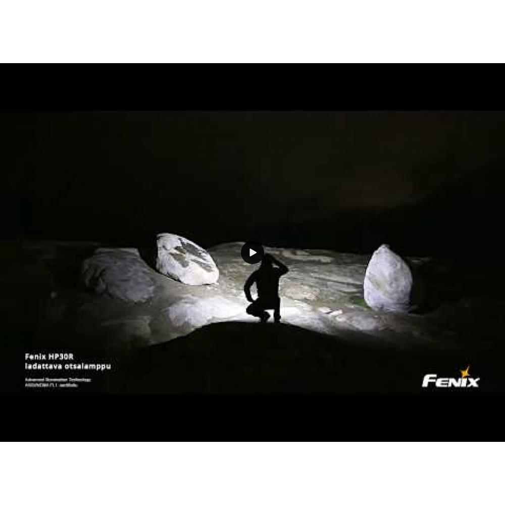 Fenix HP30R ladattava otsalamppu