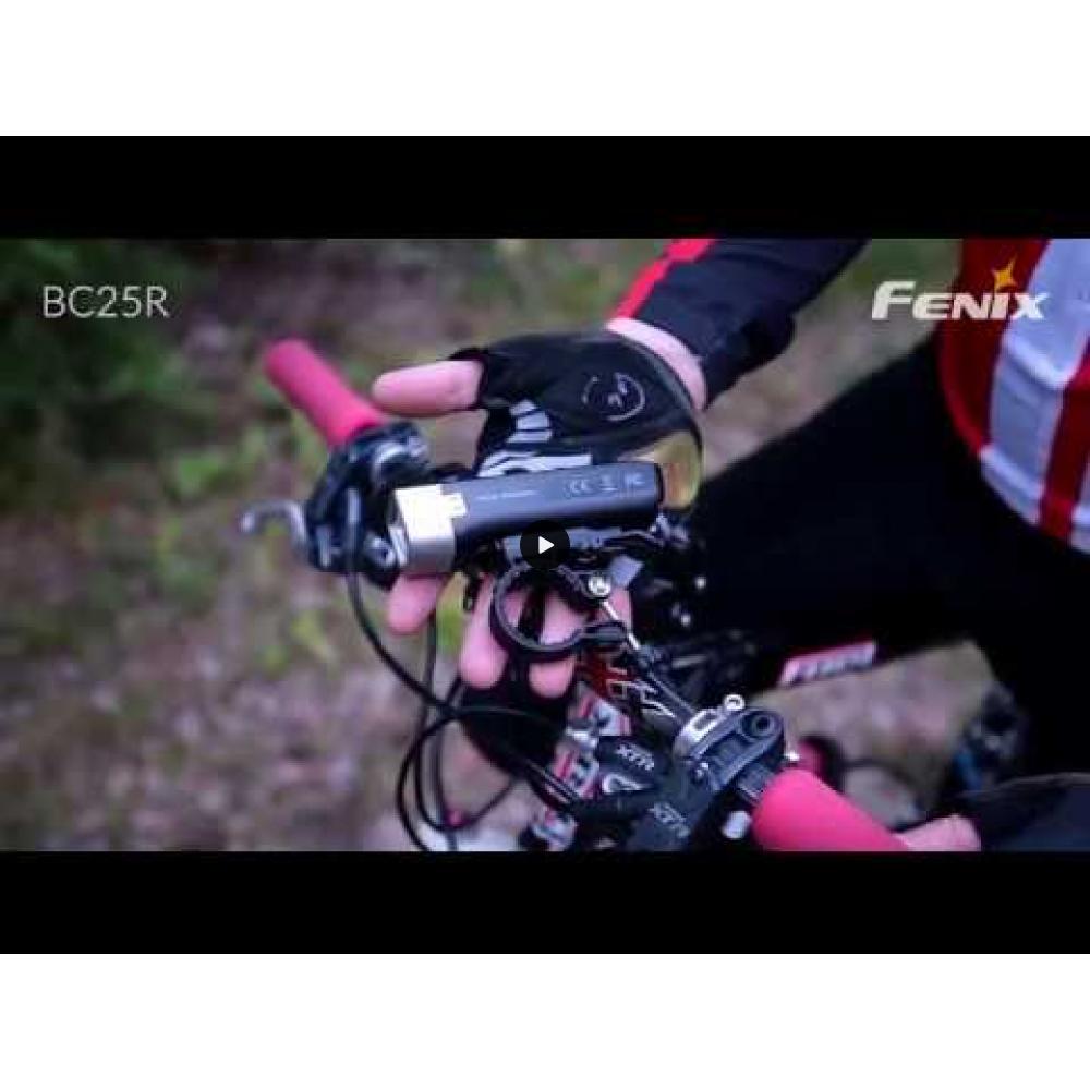 Fenix BC25R ladattava pyörälamppu