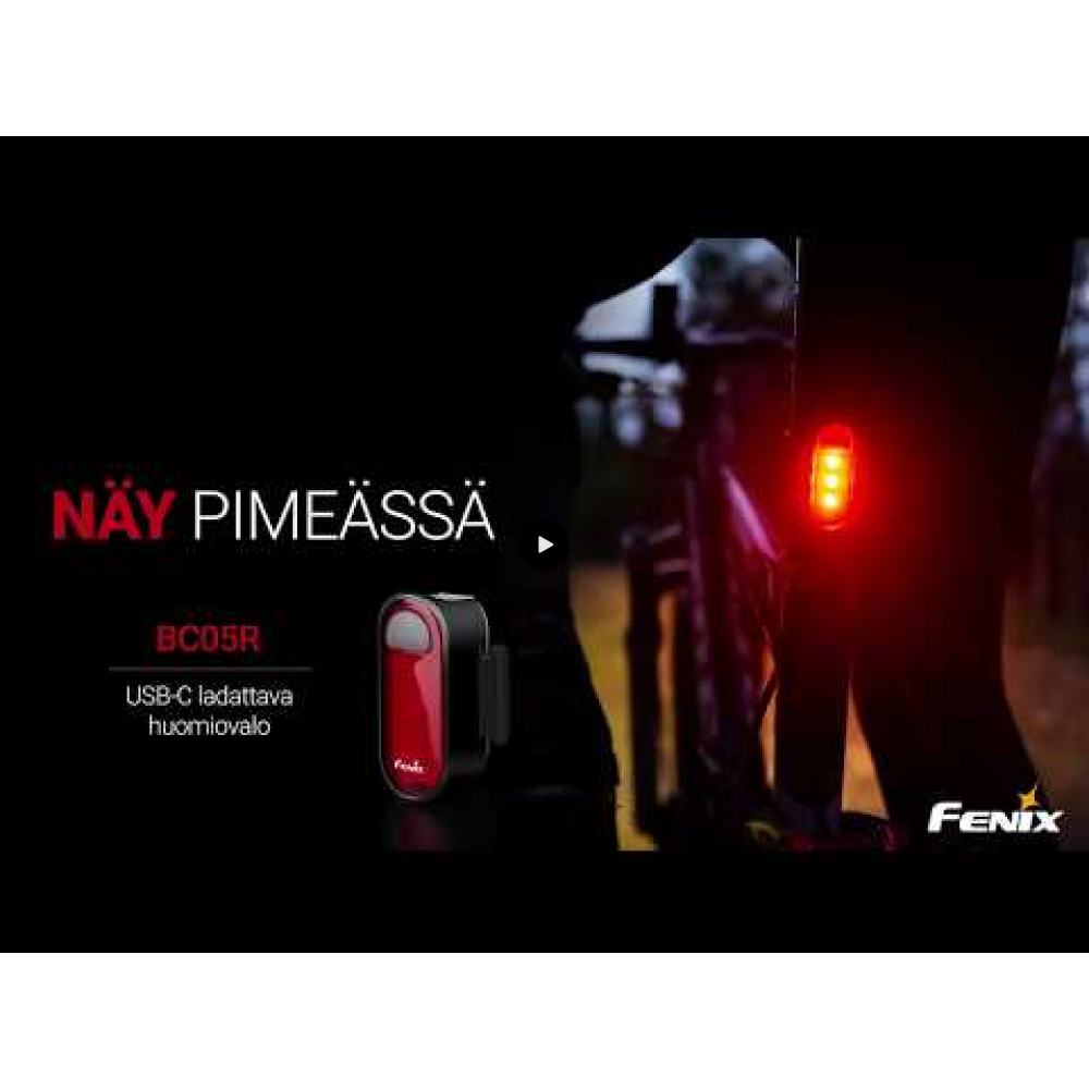 Fenix BC05R Rechargeable Bicycle Tail Light